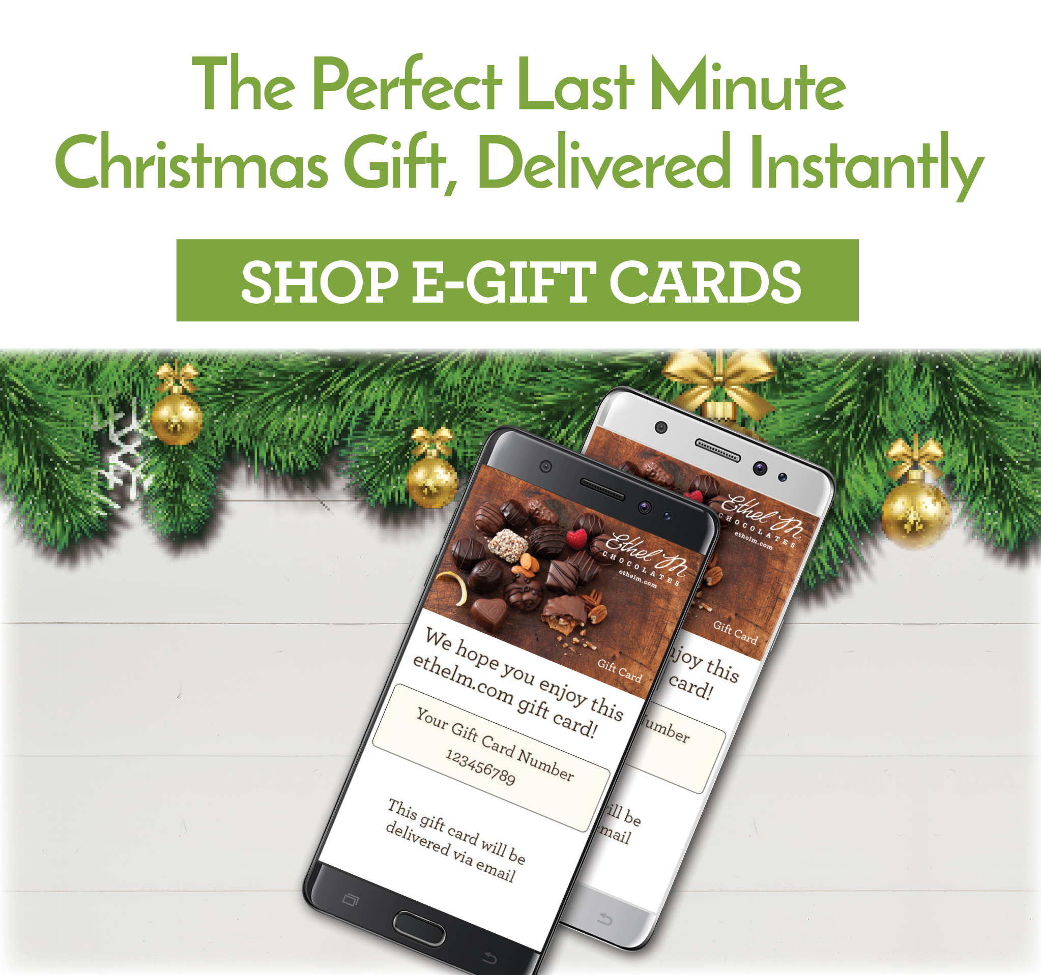 Ethel M E-GIft Cards