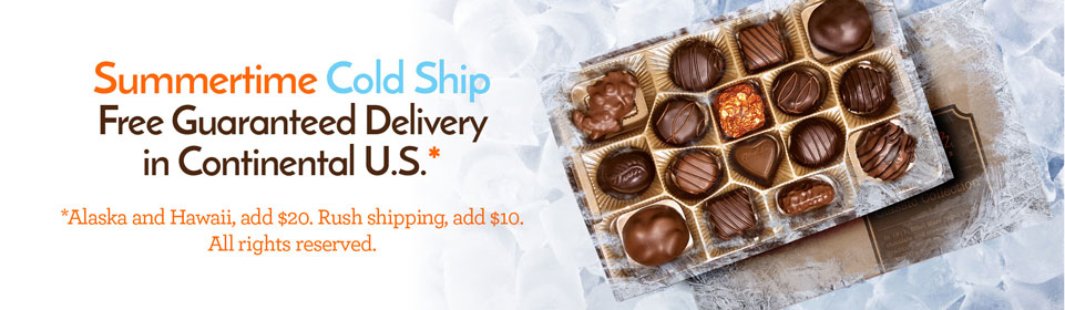 Free Standard Shipping in Continental U.S. on any order!
