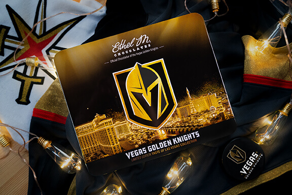 Vegas Golden Knights Chocolate Tin