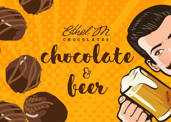 Ethel M Chocolate & Beer
