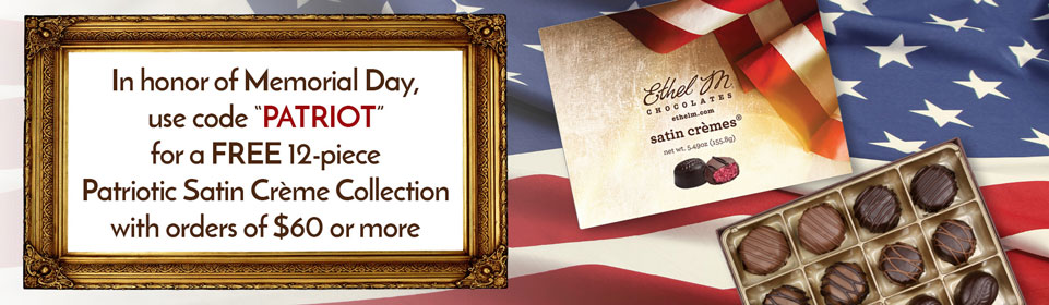 Free 12-Piece Patriotic Satin Creme Collectin with $60 Purchase and Code PATRIOT