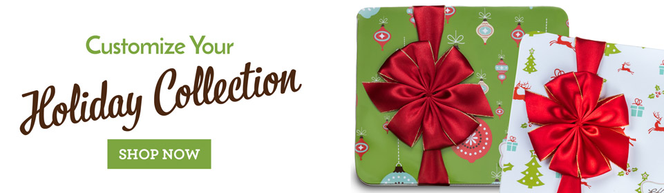 Design Your Own Holiday Collectible Tins