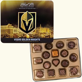 Ethel_M_Chocolates_Vegas_Golden_Knights_Collectible_Tin_Open_Box_Overhead_View
