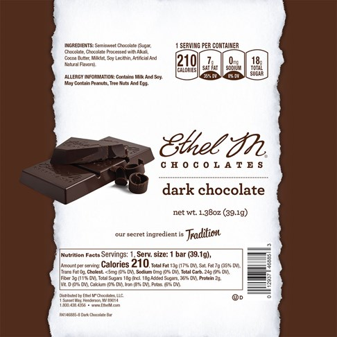 Ethel_M_Chocolates_Dark_Chocolate_Bar_Nutrition_Label