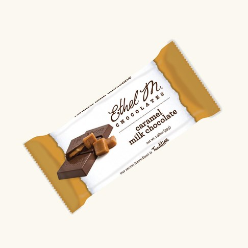 Ethel_M_Chocolates_Individually_Wrapped_Gourmet_Milk_Chocolate_Caramel_Bar_Overhead_View