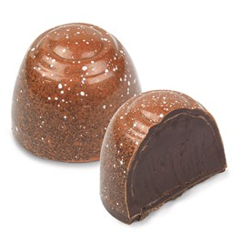 Ethel M Chocolates Dark Chocolate Truffle is Mojave Desert Honey, Dark Chocolate Ganache in a Delicate Dark Chocolate shell.