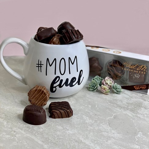Ethel_M_Chocolates_Assorted_Chocolates_In_A_White_Coffee_Cup_Front_View