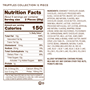 Truffles 12pc nutrition facts and ingredients
