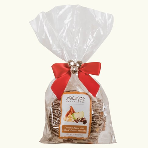 Ethel_M_Chocolates_Caramel_Covered_Holiday_Apple_In_Clear_Cellophane_Bag_With_Red_Ribbon