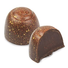Enjoy Ethel M Chocolates Honey Truffle. It's Mojave Desert Honey, Dark Chocolate Ganache in a delicate Dark Chocolate shell