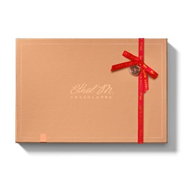 Ethel_M_Chocolates_Single_Layer_Design_Your_Own_Assorted_Chocolate_Box_With_Red_Ribbon_Front_View