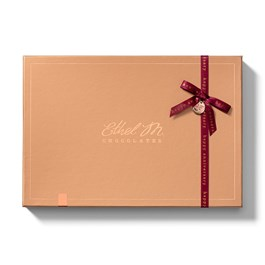 Mix and Match your Most Favorite Ethel M Chocolates Chocolate Pieces in this Design Your Own 24 Piece Box with Ethel M Ribbon and Monogram.