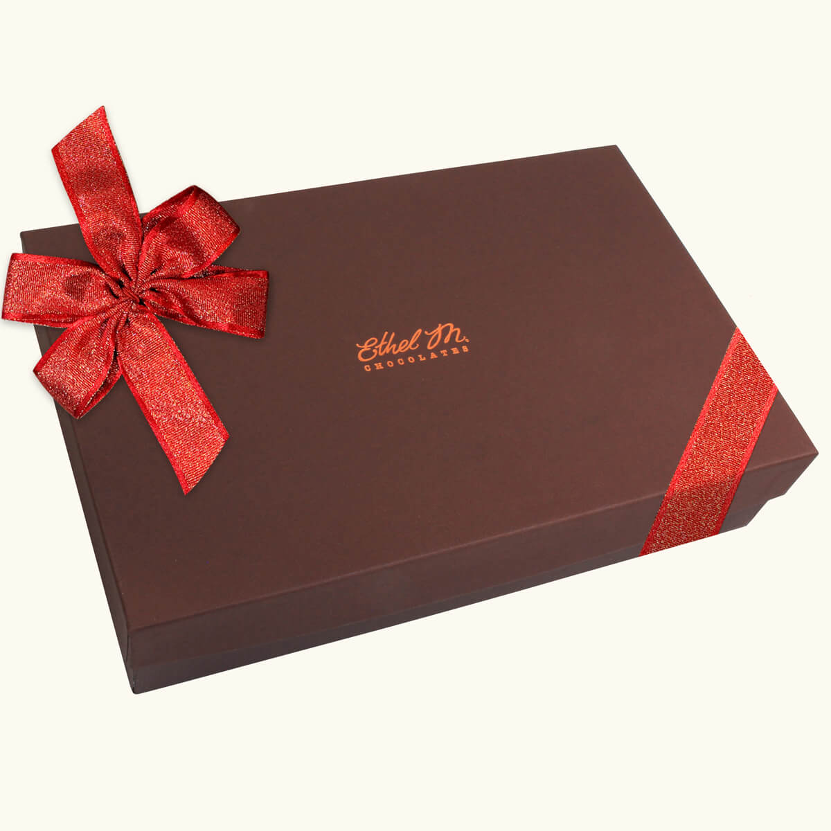 Design Your Own RED RIBBON Chocolate Assortment, Two-Layer Collection with Premium Red Ribbon, 40-80 Total Pieces