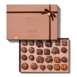 Delight on this 24 Piece Ethel M Chocolates Ultimate Assortment of the Finest Milk Chocolate coverings and Gourmet Fillings.