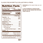 24 piece classic brittle nutrition facts