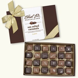 Milk and Dark Sea Salt Caramel Collection