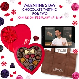 Valentine's day virtual tasting kit