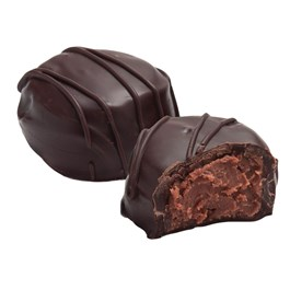 dark chocolate satin creme