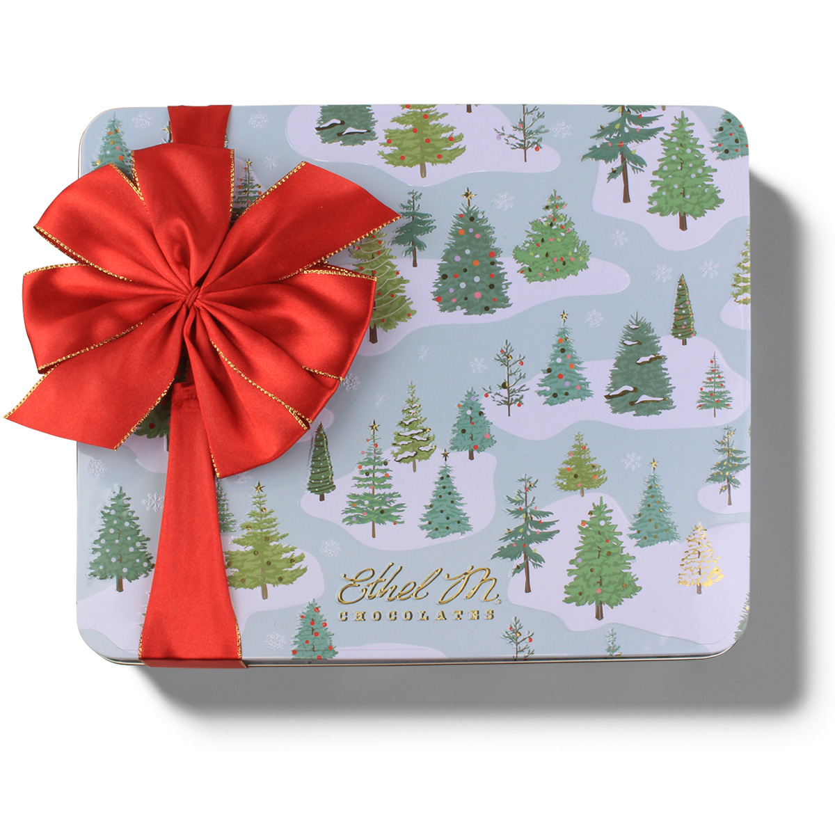 Holiday 2020 Design Your Own CHRISTMAS TREE 32-Piece Customizable Tin