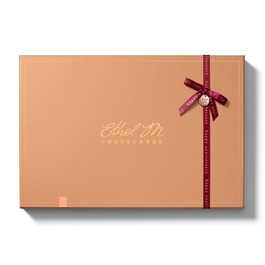 Mix and Match your Most Favorite Ethel M Chocolates Chocolate Pieces in this Design Your Own Original 24 Piece Box with Ethel M Ribbon and Monogram.