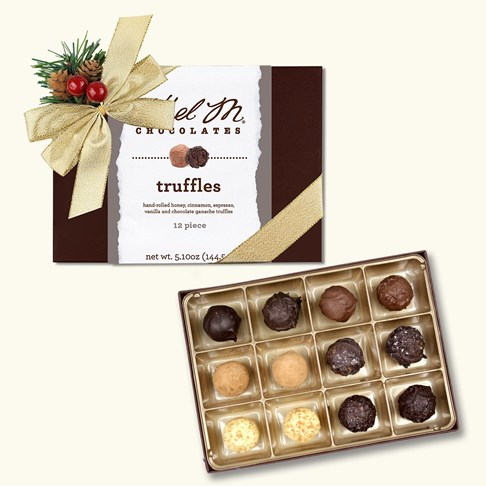12pc holiday truffle collection
