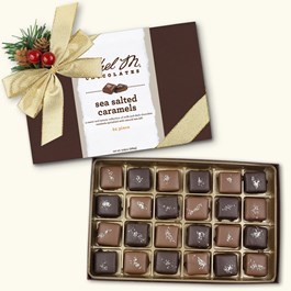 24pc sea salt caramels