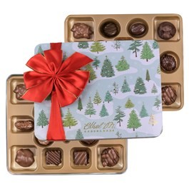 Ethel_M_Chocolates_32_Piece_Double_Layer_Holiday_Collection_Tin_Open_Box_Overhead_View