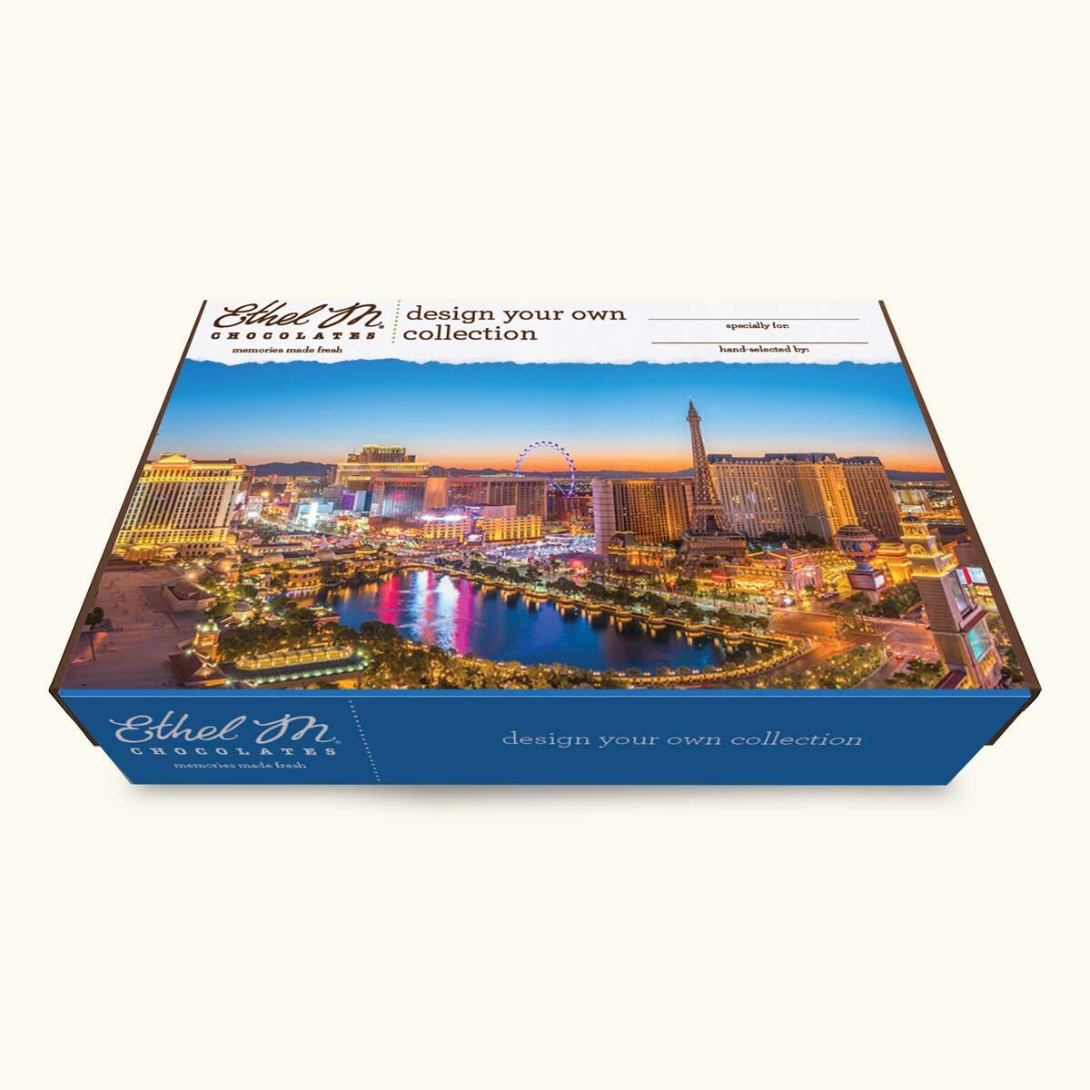 Design Your Own LAS VEGAS Chocolate Assortment, Two-Layer Collection, 40-80 Total Pieces