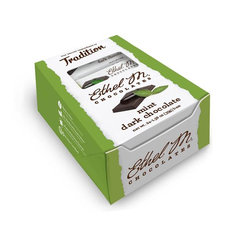 Premium Dark Chocolate Mint Bar Box