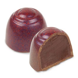 Ethel M Newly designed Milk Chocolate Cinnamon Pecan Truffle is Roasted Pecan, and  Cinnamon infused Double Chocolate Ganache in Milk Chocolate Shell.