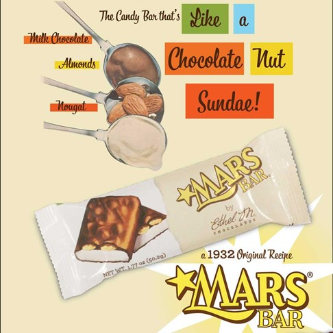 The ORIGINAL Mars Bar, using the same recipe from 1932!
