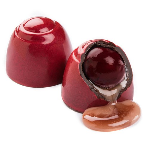 Ethel_M_Chocolates_Dark_Chocolate_Cherry_Cordial_Individual_Piece_With_Internal_View