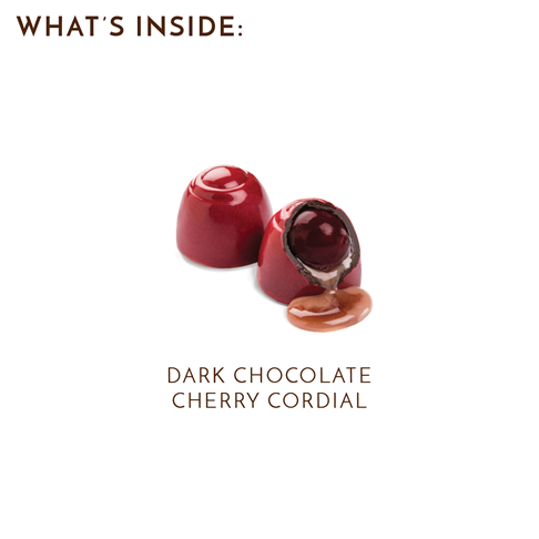 what's inside cherry cordials box