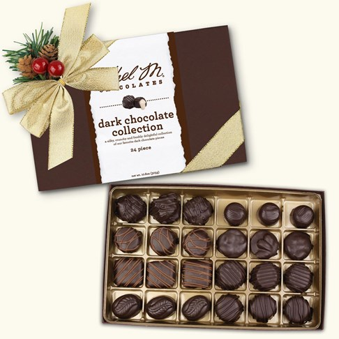 24pc holiday dark chocolate collection