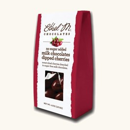 No Sugar Added Milk Chocolate Dipped Cherries