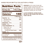 24 piece mixed brittle nutrition facts