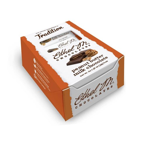 Premium Milk Chocolate Peanut Butter Bar Box