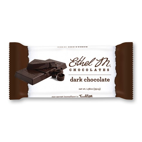 dark chocolate ethel m bar