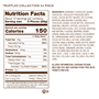 Truffles 24pc nutrition facts and ingredients