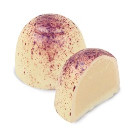 Enjoy and savor Ethel M Chocolates Silky, Smooth, Vanilla, White Chocolate Ganache in a delicate White Chocolate Shell.