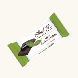 Ethel_M_Chocolates_Individually_Wrapped_Premium_Dark_Chocolate_Mint_Bar_Overhead_View