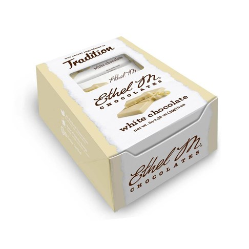 Premium White Chocolate Bars Box