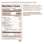 24 piece chocolate brittle nutrition facts