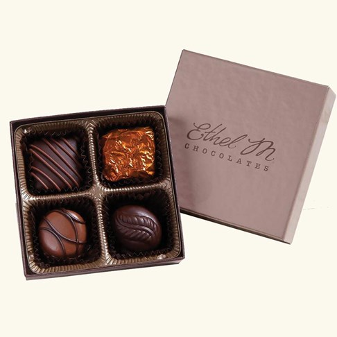 Ethel_M_Chocolates_Classic_4_Piece_Sampler_Open_Box_Overhead_View