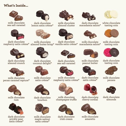 Ethel_M_Chocolates_100+_Piece_Centerpiece_Collection_Whats_Inside_Piece_Map