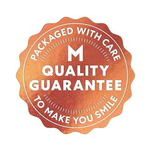 Mars quality guarantee seal