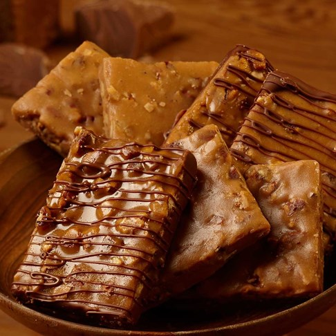 Mixed Pecan Brittle