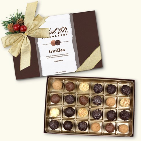 24pc holiday  truffle collection