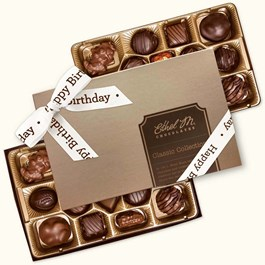 Ethel_M_Chocolates_32_Piece_Double_Layer_Chocolate_Collection_With_White_Happy_Birthday_Open_Box_Overhead_View