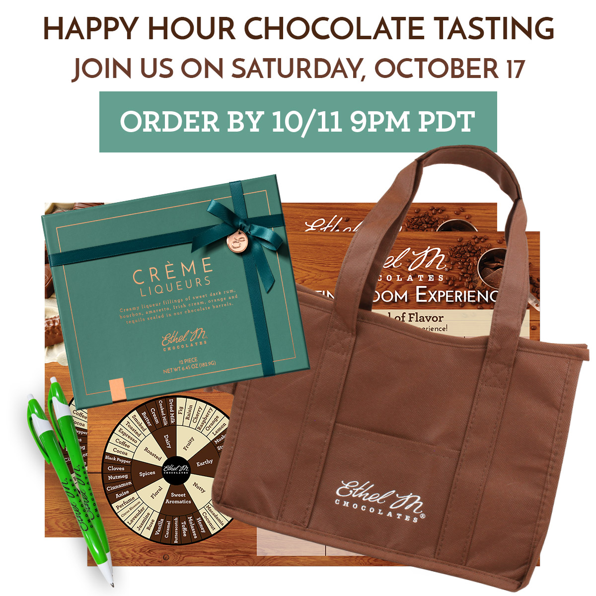 Halloween Happy Hour Tasting on Sat 10/17 @ 5pm